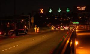 I-90 WB Mount Baker Tunnel Restripe